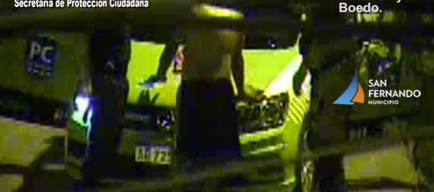 Pasaje Blanco y Ruta 202: detienen a un hombre que había robado una motocicleta