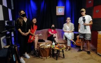 """Guadalupe Fleitas inauguró el ciclo de acústicos de San Fernando Nuestro: """"La música es transformación"""""""