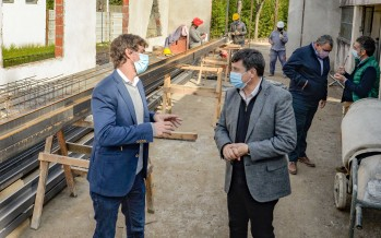 Avanza la obra de la Unidad de Desarrollo Infantil de Villa Jardín