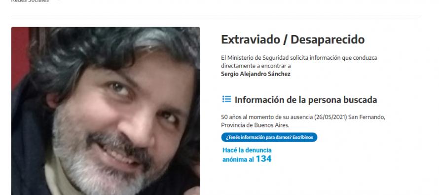 Se busca a Sergio Alejandro Sánchez, vecino de nuestra ciudad