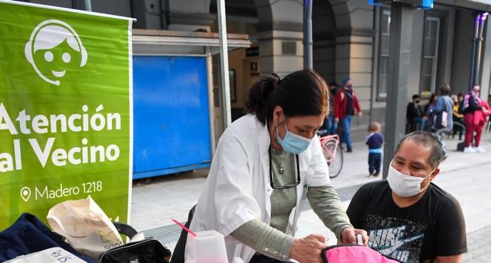 Se realizó una nueva jornada de vacunación contra el COVID-19 en la Estación Victoria