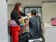 En la zona de Canal se realizó una nueva jornada de vacunación contra el COVID-19