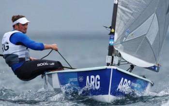 Facundo Olezza, con posibilidades de subirse al podio olímpico en vela