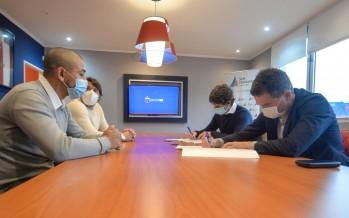 El Club Tigre firmó un convenio de colaboración con el Municipio