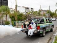 Campaña de prevención contra el dengue en los barrios Villa Hall y Don Mariano