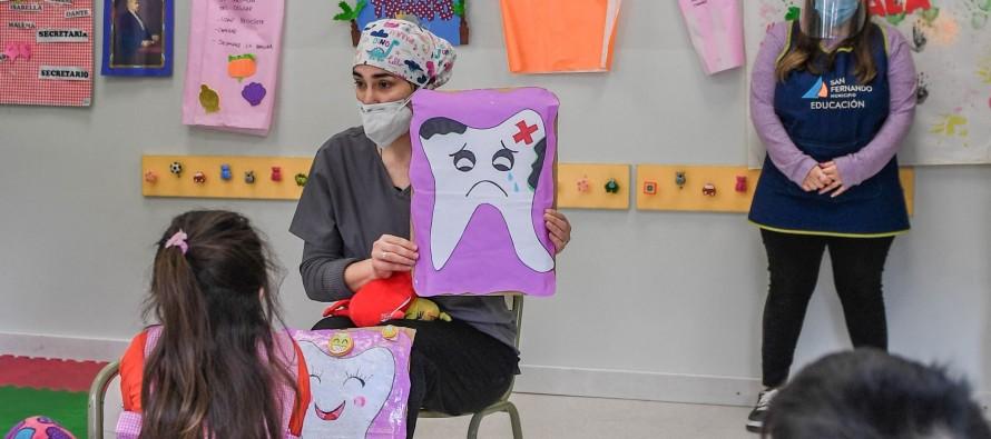 Se relanzó el Programa de Salud Bucal para chicos de nuestra ciudad