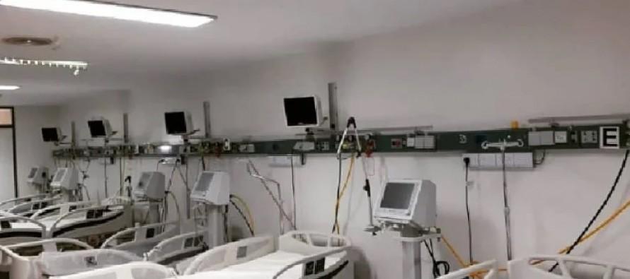 Por primera vez, desde el comienzo de la pandemia, el Hospital Cordero está libre de Covid