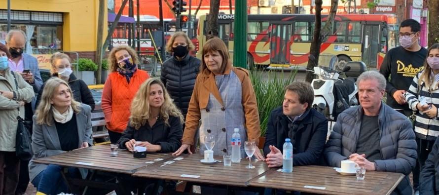 """Patricia Bullrich visitó Victoria: """"Ciarletta va a ser la próxima intendenta de San Fernando"""""""