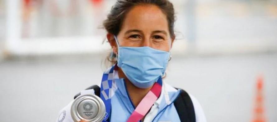 Extorsionan a Sofía Maccari para devolverle su medalla olímpica