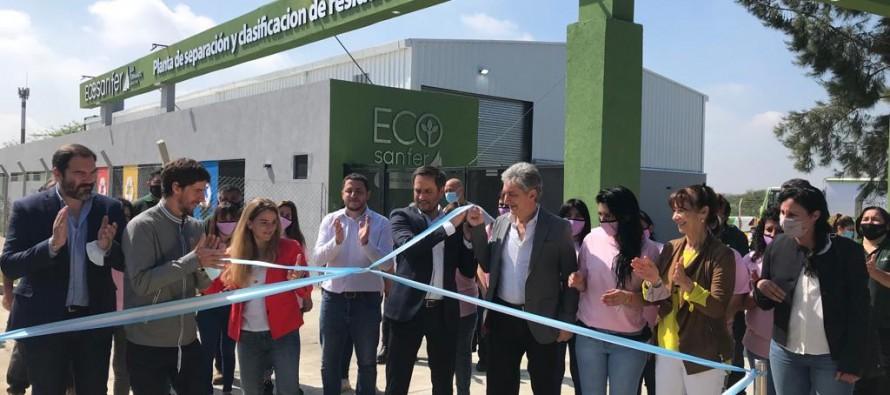 Inauguraron la planta de separación y clasificación de residuos de nuestra ciudad