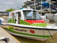 Nueva lancha ambulancia para el sistema de salud municipal de Islas