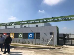 Planta de separación y clasificación de residuos