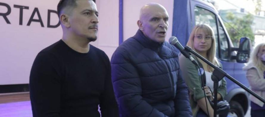 Espert visitó nuestra ciudad para dar un fuerte respaldo a Juan Molina